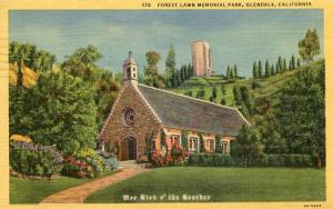 CA - Glendale, Forest Lawn Memorial Park, Wee Kirk o' the Heather
