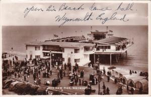 RP, The New Pier, Weymouth, Dorset, England, UK, 1920-1940s