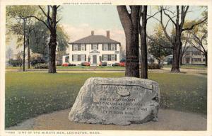 12621   MA Lexington 1920  Jonathan Harrington House   30th Convention Nat.As...