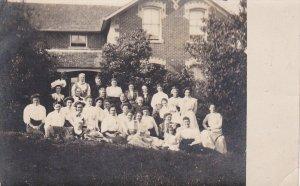 RP: Girls of Woman's Institute, SINGHAMPTON , Ontario , Canada , 00-10s