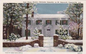 Supt. Home. Western Methodist Assembly, on Mt. Sequoyah, Fayetteville, Arkans...