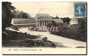 Old Postcard Caen Le Jardin des Plantes