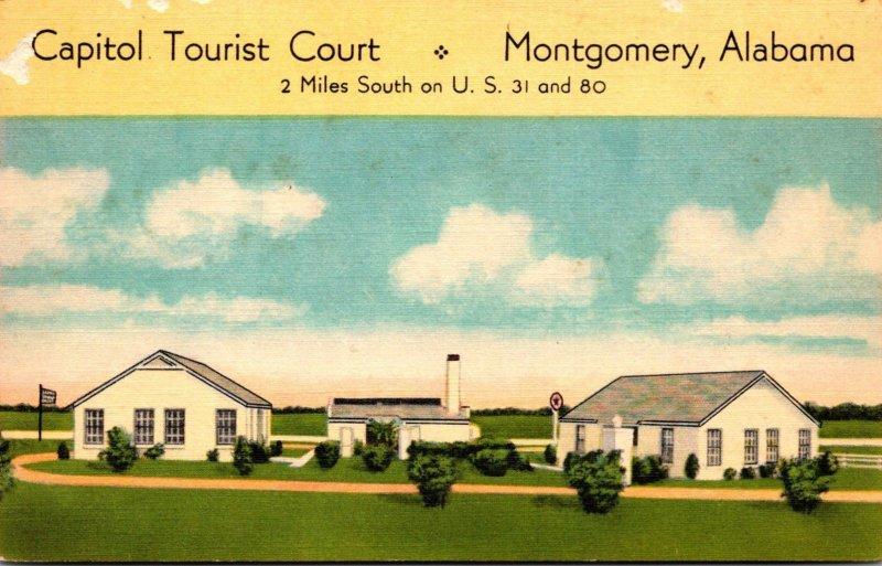 Alabama Montgomery Capitol Tourist Court