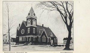 CHERRYFIELD , Maine, 1900-10s; Baptist Church
