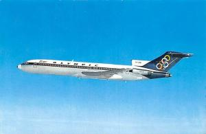 Olympic Airways Boeing 727-200 Airplane, Aircraft Postcard