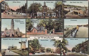 Multi-Views Of Lytham, Including A Windmill, Pier, Street Views, Etc., Lancas...