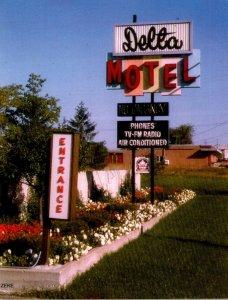 Michigan Bay City The Delta Motel