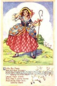Little Bo - PeepLittle Bo - Peep, Nursery Rhyme, Postcard Postcards  Little B...