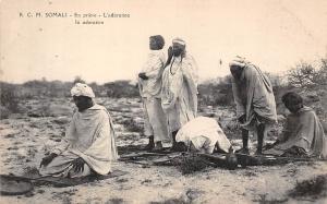 Somalia Prayer, Pray, Somali En priere, L'adoration, native men