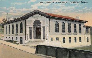 PENDLETON , Oregon , 00-10s ; Umatilla County Library