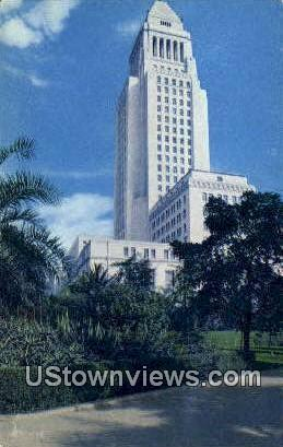 City Hall Los Angeles CA Unused