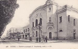 TUNIS, Tunisia; Theatre municipal, J. Resplandy Arch, 00-10s