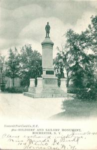 New York Rochester Soldiers and Sailors Monument 1905