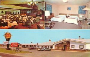 West Of New York~Vineyard Motel~Stage in Dining Room 1950s PC