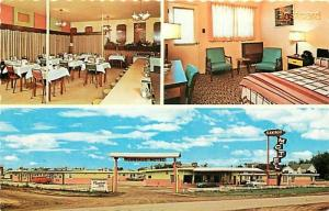 Canada, Saskatchewan, Prince Albert, Flamingo Hotel, Color Productions 33720-C