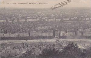 France Lyon Vue generale Le Centre et la Guillotiere 1909