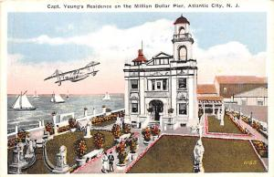 Advertising Post Card Capt Young's Residence, Million Dollar Pier, Bran ...