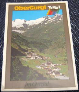 Austria Obergurgl im Oetztal Tirol - posted 1991