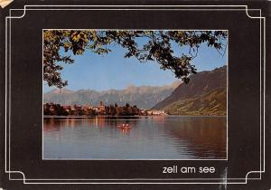 Bergstadt Zell am See Schiff Boat Lake Lac Panorama