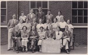 Musical Snobs Norfolk Drama Class 1930s Bowles House 15x Hand Signed RPC Post...