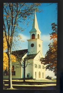 Belchertown, Massachusetts/MA/Mass Postcard, Congregational Church