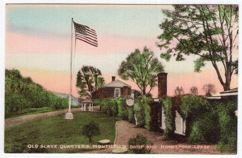 Old Slave Quarters, Monicello, Shop And Honeymoon Lodge