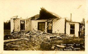 IA - Sanborn, June 5, 1914. Andre Haynes Residence After Tornado.*RPPC