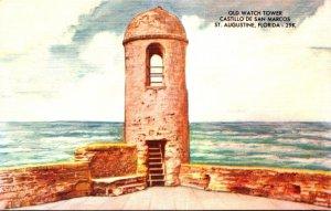 Florida St Augustine Old Watch Tower Castillo San Marcos