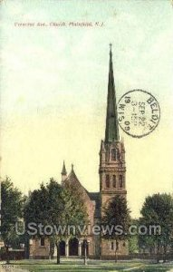 Crescent Ave. Presbyterian Church in Plainfield, New Jersey