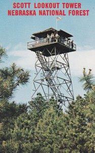 NEBRASKA, 1950-1960's; Scott Lookout Tower
