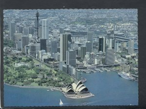 Australia Postcard - Aerial View of Sydney, New South Wales   T8827