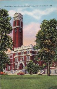 Vanderbilt University College Hall Nashville Tennessee