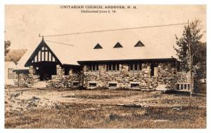 New Hampshire  Andover , Unitarian Church ,  RPC