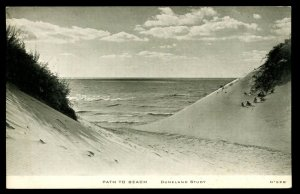 Path to Beach. Duneland Study. C.R. Childs