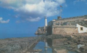 Postal castillos numero 051: Cuba, Castillo de los 3 reyes del morro
