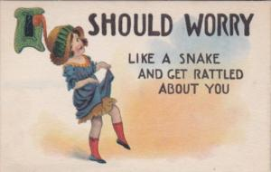 Humour Girl Dancing Should Worry Like A Snake and Get Rattled About You 1915