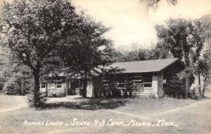Madrid Iowa 4H Camp Hickory Lodge Antique Postcard K81337