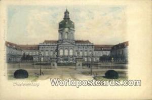 Charlottenburg Germany, Deutschland Postcard Das Schloss Charlottenburg Das S...
