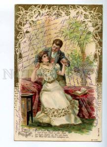 240867 Before KISS Lovers ART NOUVEAU Vintage POST 1903 year