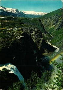 CPM AK The Voringsfossen Waterfalls NORWAY (834052)
