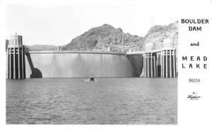 Arizona - Nevada Boulder Dam Mead Lake Frasher real photo pc Y12241
