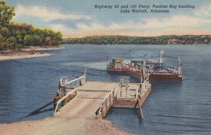 LAKE NORFOLK, Arkansas, 1930-1940's; Highway 62 And 101 Ferry, Panther Bay La...