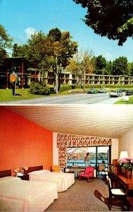 New York Adirondacks Lake Placid Lakeside Motor Inn