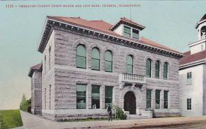 Thurston County Court House and City Hall, Olympia, Washington, 00-10s