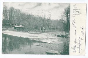 Brandywine River Du Ponts Powder Mills Wilmington DE UDB1906