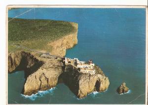 Postal 039160 : Farol do Cabo de S. Vicente Primeiro Farol de Portugal