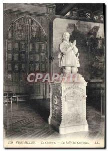 Postcard Old Versailles Chateau La Salle Crusades