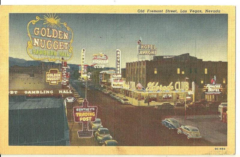 1950 Old Fremont Street, Las Vegas, Nevada ~ Golden Nugget