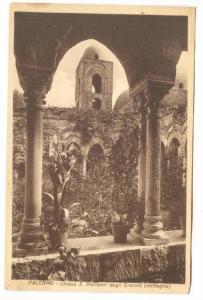 Chiesa S. Giovanni Degli Eremiti - (Dettaglio), Palermo (Sicily), Italy, 1900...