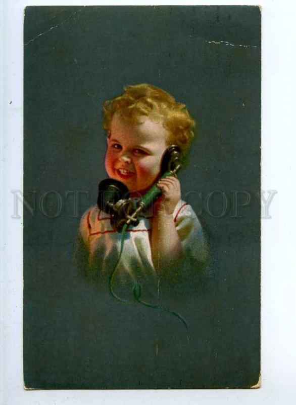 240614 Illuminated Boy TELEPHONE by KNOEFEL vintage NOVITAS